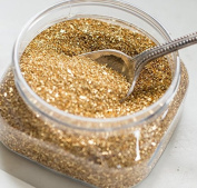 Miss Mustard Seed Glass Glitter - 14 Karat Gold