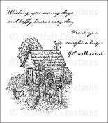 Heartfelt Creations Classic Sunflower - Chick Retreat stamps