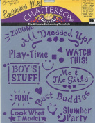 Chatterbox Journaling Genie Embossing Template - Empress Me - Just Us Kids