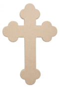 Celtic Cross 60cm X 41cm Unfinished Ready to Paint Wood Wooden Stacked Craft