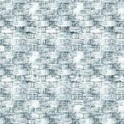 Freespirit Fabrics Eclectic Elements-Tim Holtz 110cm Wide Basket 100-Percent Cotton, Blue, 8-Yard