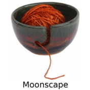 Yarn Bowl in Moonscape Glaze