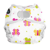 Imagine Baby Products Newborn Hook and Loop Nappy Cover, Flutter