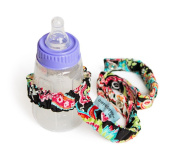 Sister Chic Dropper Stopper Sippy Cup and Tether Toy, Patty Paisley