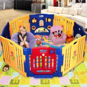 Giantex 8 Panel Play Centre Safety Yard Pen Baby Kids Playpen