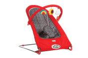 Little Tikes Sit N Play Bouncer, Red/Grey
