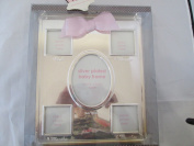 Nursery Rhyme Silver Plated Baby Frame