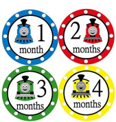 Monthly Stickers Monthly Baby Boy Stickers Thomas The Tank Monthly Stickers Thomas and Friends Thomas The Train Stickers Waterproof Baby Shower Gift