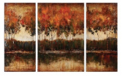 Artwork Reproduction Trilakes I Ii Iii Set Of 3 Wall Art
