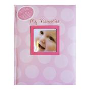 Kangaroo Baby Memories and Records Book, Pink Dots