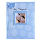 Kangaroo Baby Memories and Records Book, Blue Dots