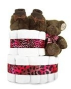 Mink Couture 2-Tier Nappy Cake