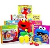 "Teach Me Elmo ""My First Library"" Gift Set"