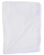 Lucas Christening Blanket for Boys, Made in USA