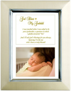Godson or Goddaughter Gift From Godmother - Baptism, Christening, Christmas - Add Photo