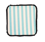 Caught Ya Lookin' Baby Thumb Blanket, Boys Blue and White Striped