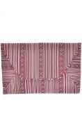 Womens Designer Aztec Pattern Printed Clutch Bag