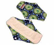 4 Bamboo Mama Cloth/ Menstrual Pads/ Reusable & Water proof Sanitary Pads / Panty Liners - PRINTS