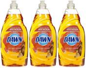 Dawn Ultra Antibacterial Dishwashing Liquid, Orange Scent, 710ml-3 pk