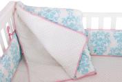 Novela Ela Organic Comforter, Light Blue