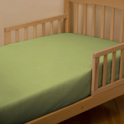 Solid Citron Toddler Sheet Bottom Fitted