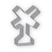 The American Cookie Cutter by Flavortools Railroad Crossing Sign Cookie Cutter, 7cm , Set of 12
