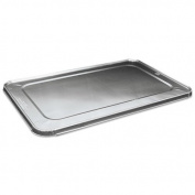 Boardwalk - Full Size Steam Table Pan Lid For Deep Pans, Aluminium, 50/Case LIDSTEAMFL (DMi CT
