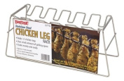 Bayou Classic Chicken Leg Rack - Stainless Steel