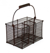 Divided Metal Cutlery Caddy