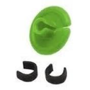 String Love Kisser Button 2.1.4cm Flo. Green