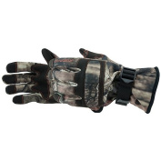 Form Fit Non-Insulated Glove, Black/Mossy Oak