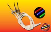 Specialty Archery .020 Glow Pin for PS XL, Super D & True Spot red,green,blue fibres