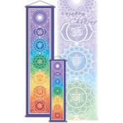 60cm x 15cm Rainbow Chakra Banner, By Bryon Allen