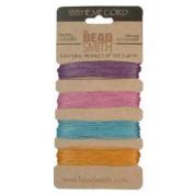 Hemp Twine Bead Cord .55mm - Pastel Colours App 13m