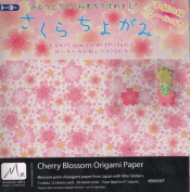Cherry Blossoms Print Origami Paper