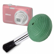 DURAGADGET High Quality Ultra-Fine Lens Blower Brush Cleaner For Nikon Coolpix S2800