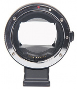 T Tocas® Newest Version Electronic Auto Focus EF-NEX EF-EMOUNT FX Lens Mount Adapter for Canon EF EF-S Lens to Sony E Mount NEX 3/3N/5N/5R/7/A7 A7R Full Frame Frame