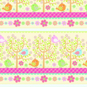 The Gift Wrap Company Half Ream Wrapping Paper Roll, Little Tweet