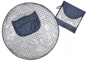 Neatnik Saucer High Chair Cover- Grey Dot