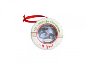 The Grandparent Gift Co. Holiday All I want for Christmas Ultrasound Ornament