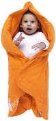 Wallaboo Baby Blanket Fleur, Sun Orange, 0-12 Months