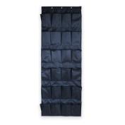 Tai523 24 Pocket Hanging Over Door Shoe Organiser Storage Tidy Rack Space Saver Toys