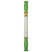 The Stick Little Stick - 36cm - Standard Flexibility With Green Handles - Therapeutic Body Massage Stick - Potentially Improves Flexibility - Aids Muscle Recovery And Muscle Pain - Provides Myofascial Release