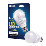Cree 3 Way LED Light Bulb 3/8/18-watt (30/60/100-watt) Soft White (2700k) - 320/820/1620 Lumens - Omnidirectional