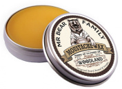 Mr Bear Family Moustache Wax (20ml/0.67oz) - Woodland Scent - Shipped from United Kingdom