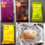 4 Packs Sweet Sugar Sugaring Wax Paste hair removal 100% Natural 200 GM Egypt