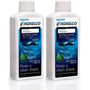 Philips Norelco HQ200 Cool Breeze Scent Jet Clean Solution - 2 Pack