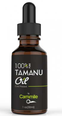 Tamanu Oil - Pure and Cold Pressed - For Skin, Nails, Face, Hair and Scars - Calophyllum Inophyllum (Foraha Nut Seed Oil).