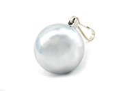 M2m Weight, Ball With Clip, 240ml, Chrome