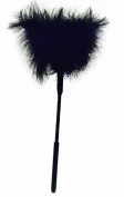 Sex & Mischief Feather Tickler 18cm Black